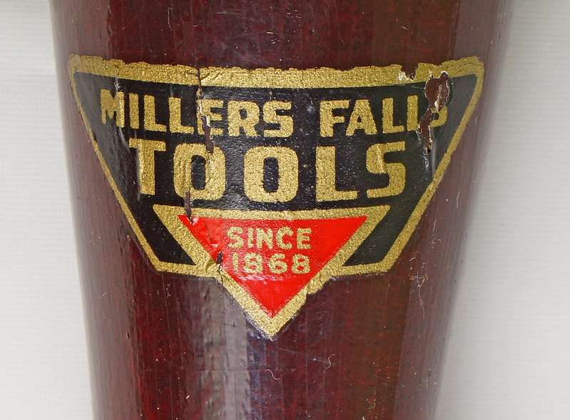 RD27975 Vintage Millers Falls Rachet Push Reversable Screwdriver No 610A Original Label & Box DSC05535