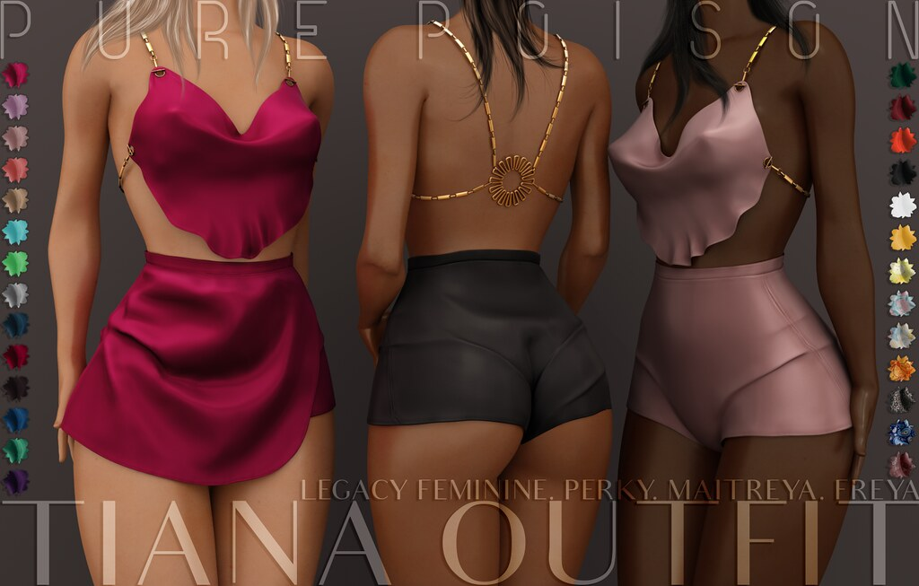 Pure Poison – Tiana Outfit @UBER