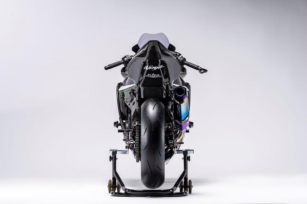 Kawasaki Ninja ZX-25R Racing Version Back