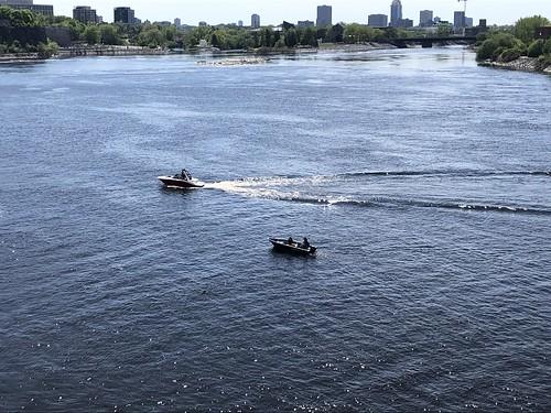 Ottawa River from the Alexandra Bridge