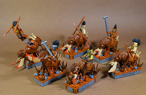 Horde Faction Rare Unit: Orc Boar Stompa's