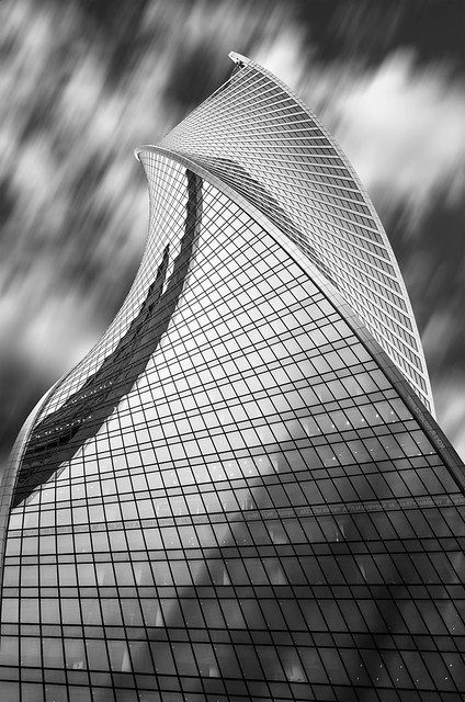 Evolution Tower. Moscow City (Russia)