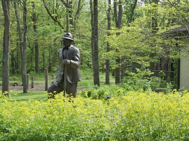 The Brukner statue