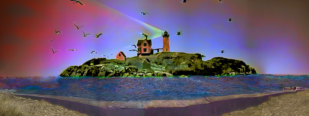 Lighthouse in Color