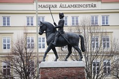 The Equestrian Statue of Béla IV of Hungary