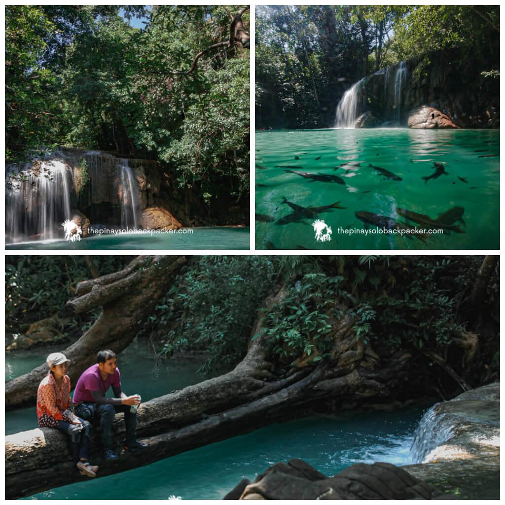 KANCHANABURI TOURIST SPOTS: ERAWAN WATERFALLS