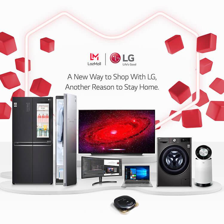 LG Electronics' Flagship Lazada Store