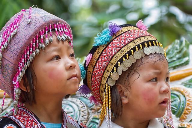 bambine thailandesi