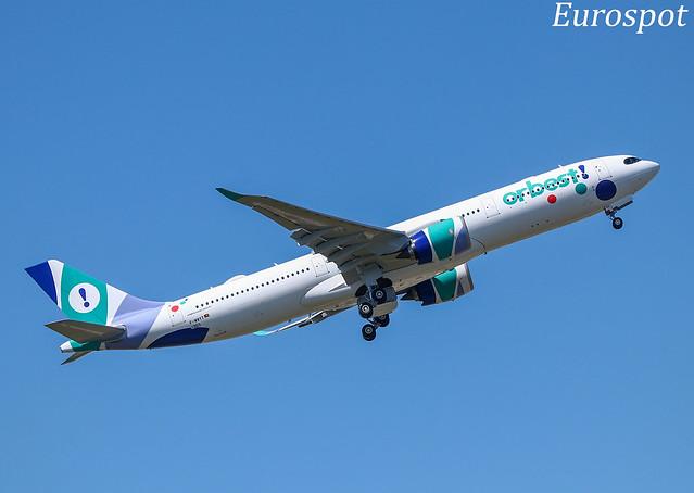 F-WWYT Airbus A330 Neo Orbest - First flight -