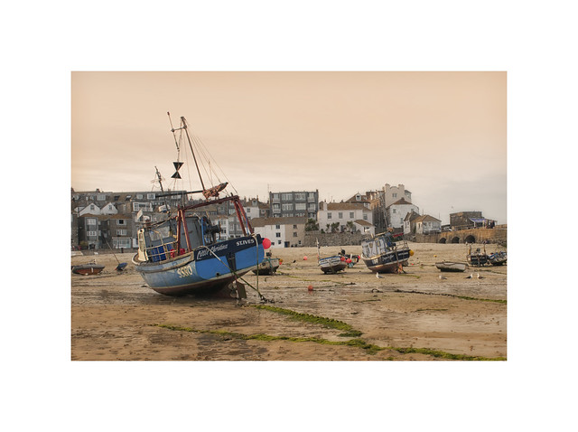 Peace and calm descend on St Ives..