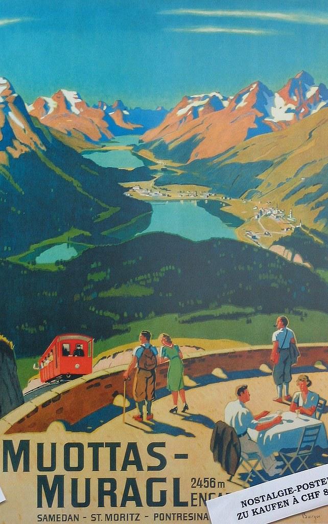 Muottas Muragl - Romantik Hotel Albula Alpen Schweiz foto 01