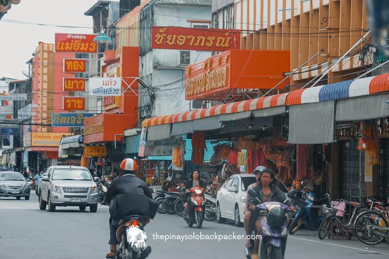 kanchanaburi downtown