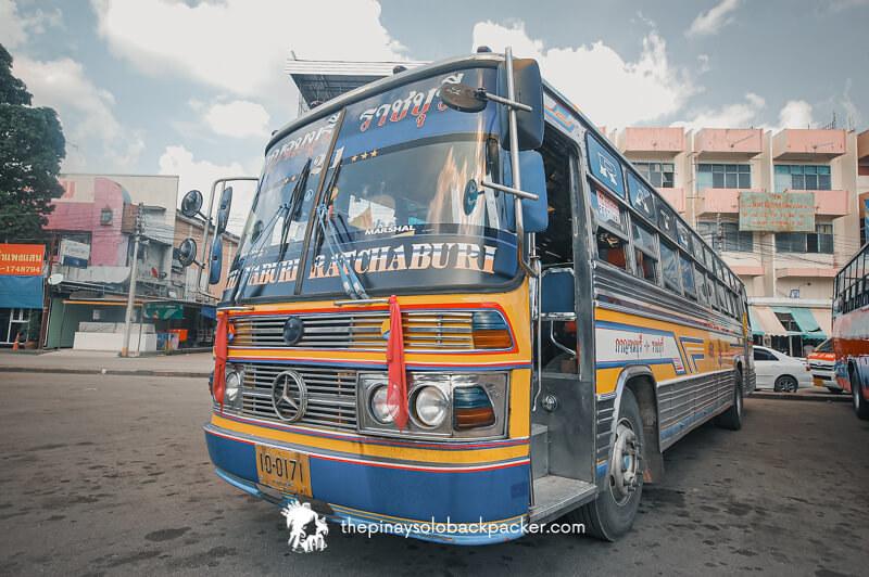 kanchanaburi bus