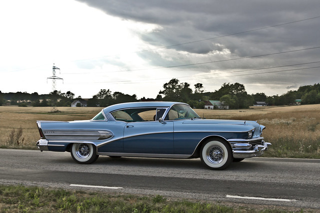 Buick Super Riviera Coupé 1958 (8410)