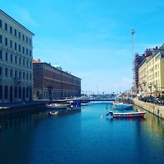 Trieste - Canale Grande