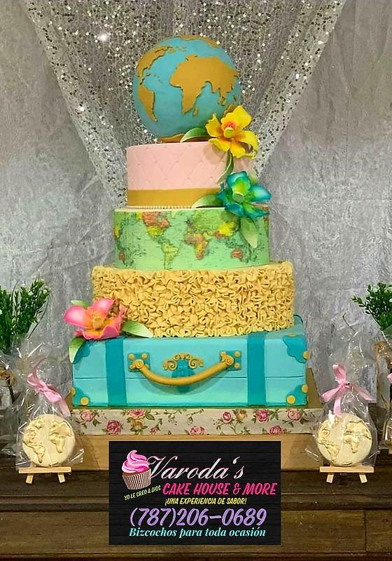 Cake by Rosely Colon of Varodas Cakes House