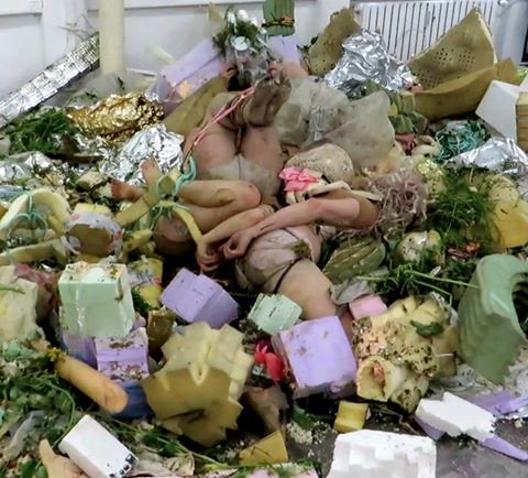 consumed by trash