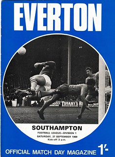 Everton v Southampton 27/09/1969
