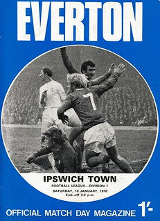 Everton v Ipswich 10/01/1969