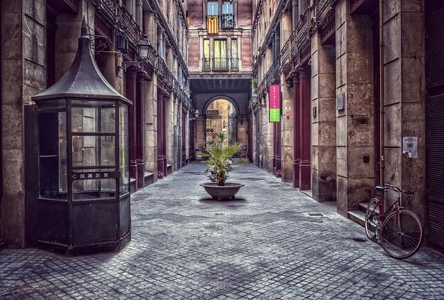Passatge del Crédit - Barcelona