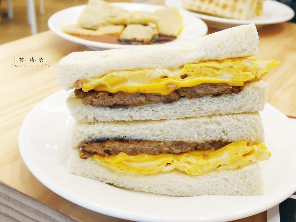台北人氣必吃早餐早午餐美食真芳信義店碳烤吐司紅茶牛奶忠孝東路蛋餅 (5)