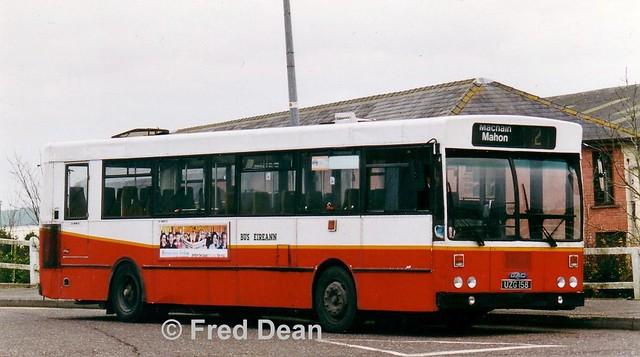 Bus Éireann KC 158 (UZG 158).