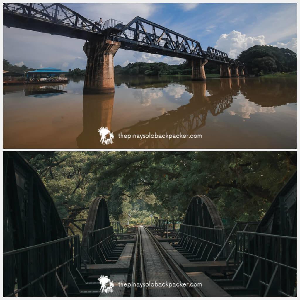 KANCHANABURI TOURIST ATTRACTION: BRIDGE ON THE RIVER KWAI