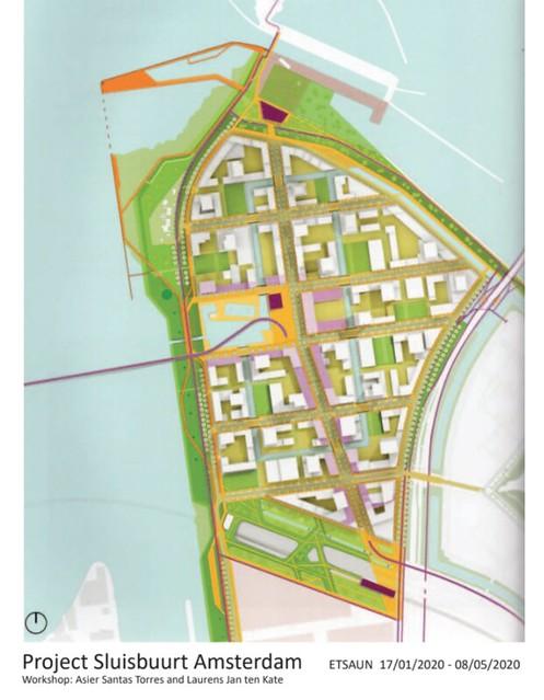 ENUNCIADO: Edificio residencial con usos mixtos en Sluisbuurt