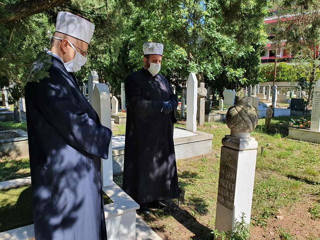 Zijaret mezarovima poginulih imama