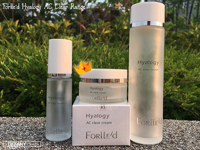 Skin Science Forlled Hyalogy AC Clear Products