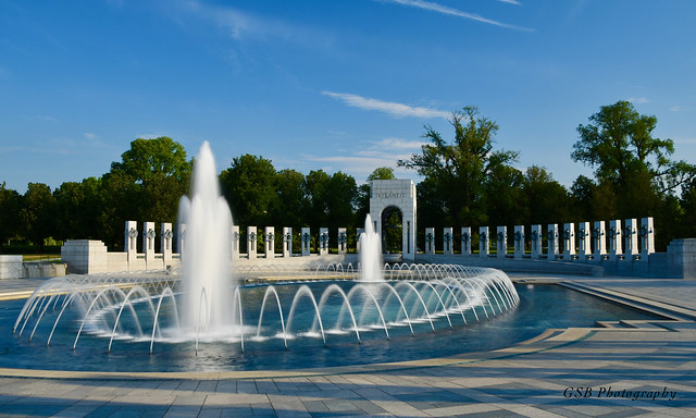 World War II Memorial, Washington DC (Explore # 190, May 25, 2020)