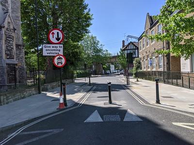 Hartland Road closure