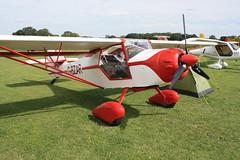 G-BZAR Denny Kitfox [PFA 172B-12529] Sywell 300819
