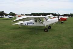 G-BWWA Ultravia Aero Pelican Club GS [PFA 165-12242] Sywell 300819