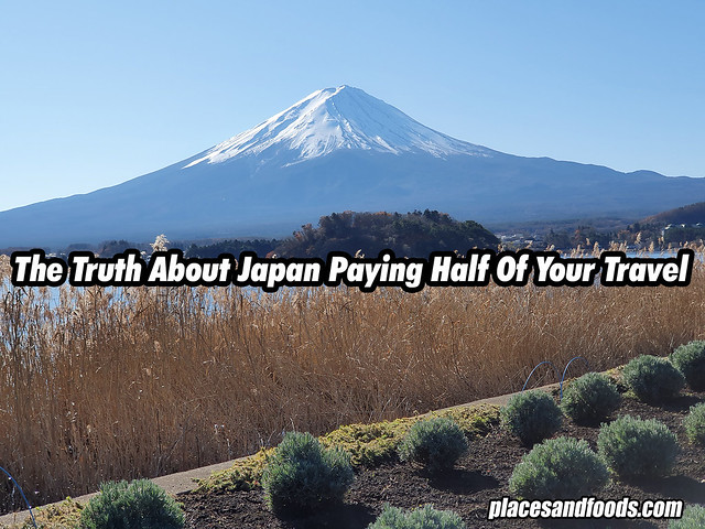 japan pays half your travel