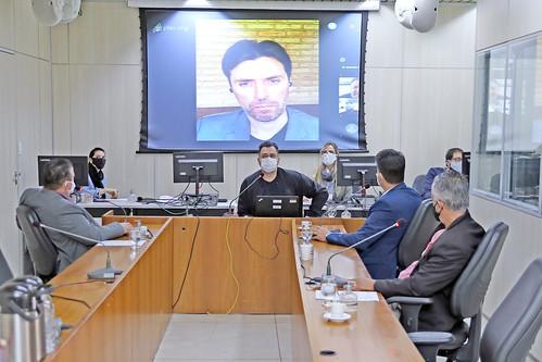 12ª Reunião - Comissão Parlamentar de Inquérito: Débitos do Município com a Construtora Andrade Gutierrez