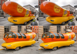 The Oscar Meyer Wienermobile spotted when it visited Baltimore.
