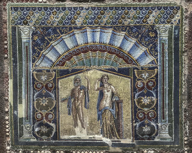 Ercolano : Casa del Mosaico di Nettuno e Anfitrite