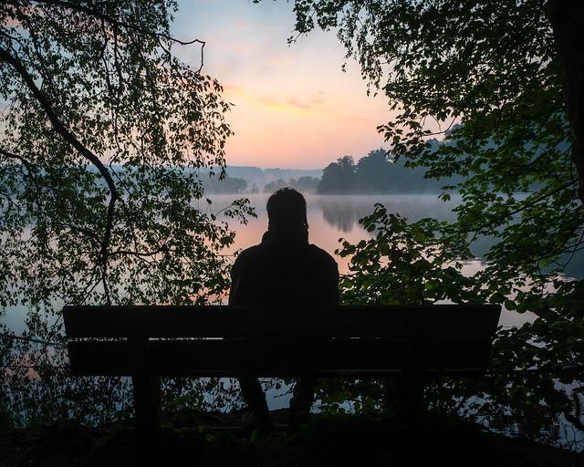 Watching the sunrise