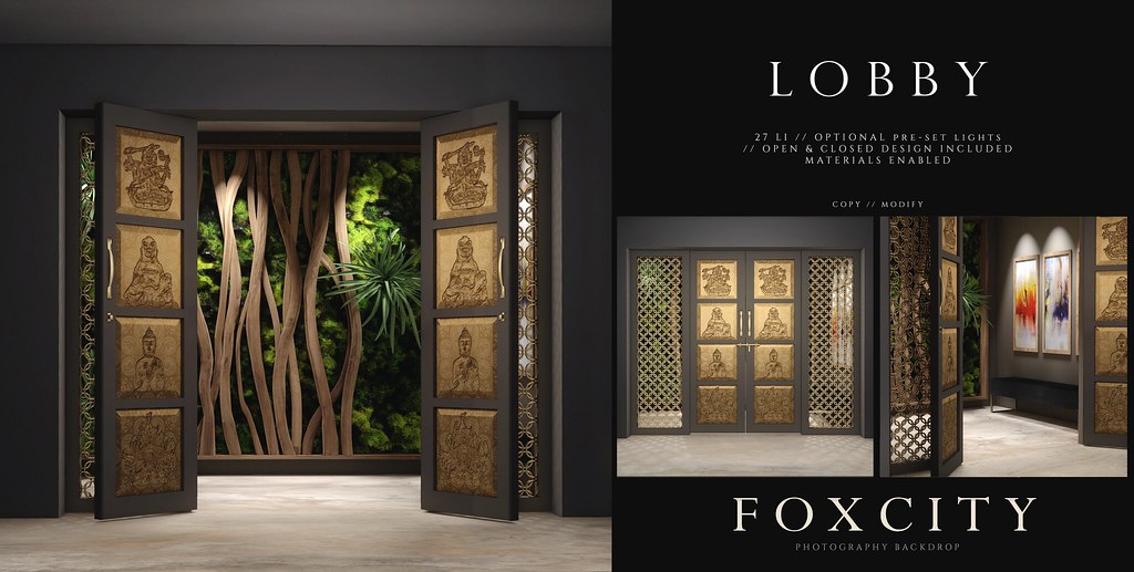 FOXCITY. Photo Booth - Lobby