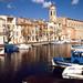 Le canal Galiffet et l'église Saint-Genest, Martigues