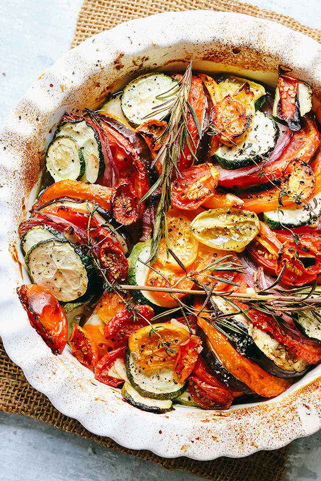 Fresh Herb and Summer Vegetable Tian
