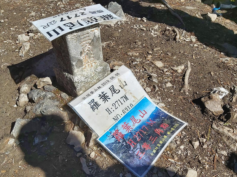 ROMA: summit of Mt. Luoyewei 羅葉尾山 2,717 m / 8,914 ft