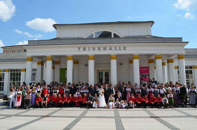 Wedding, Bad Ischl, Austria