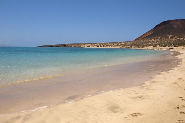 La Graciosa beach