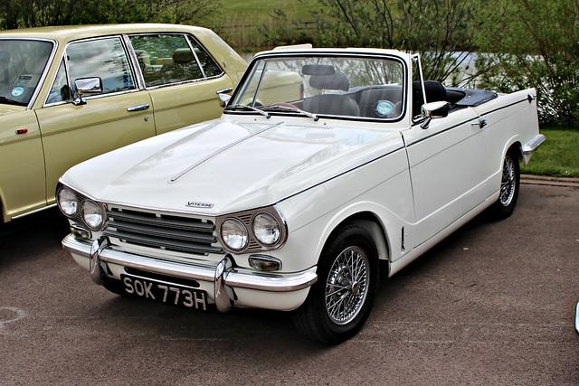 231 Triumph Vitesse (Mk.II) 2 litre Convertible (1969) SOK 773 H