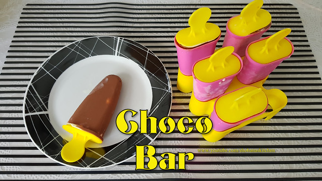 3 Minute, 3 Ingredient Choco Bar Ice Cream / Without Ice Cream Maker / Without Egg /Shobanas Kitchen