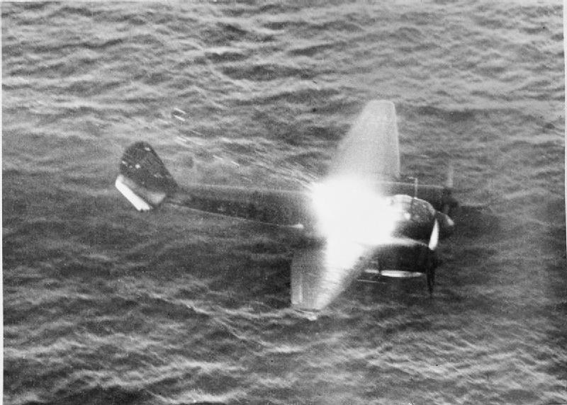 Junkers_Ju_88_shot_down_off_Norway