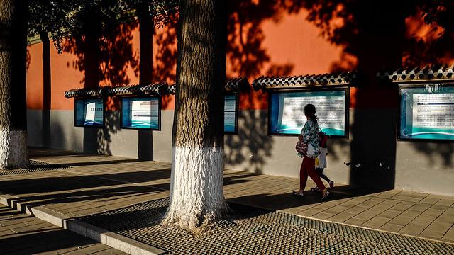 Pékin - Parc de l'Empereur.