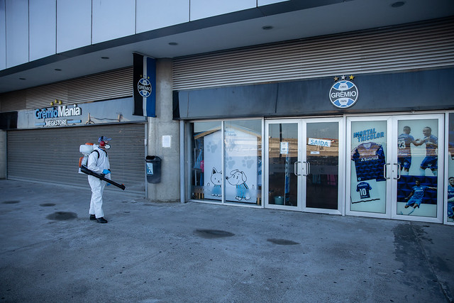 Higienização GrêmioMania Megastore